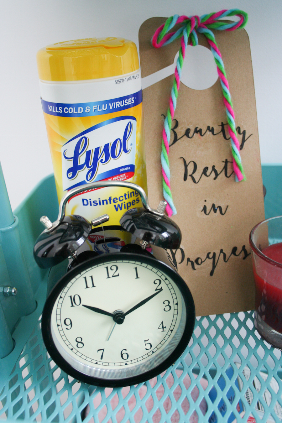 Houseguest Welcome Basket // Legal Miss Sunshine