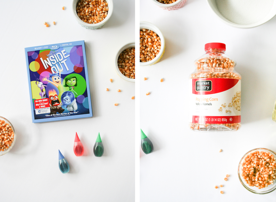 Inside Out Movie Night with Rainbow Kettle Corn Popcorn // Legal Miss Sunshine
