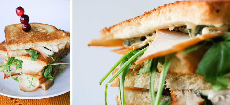Turkey Gorgonzola Grilled Cheese Sandwich // Legal Miss Sunshine