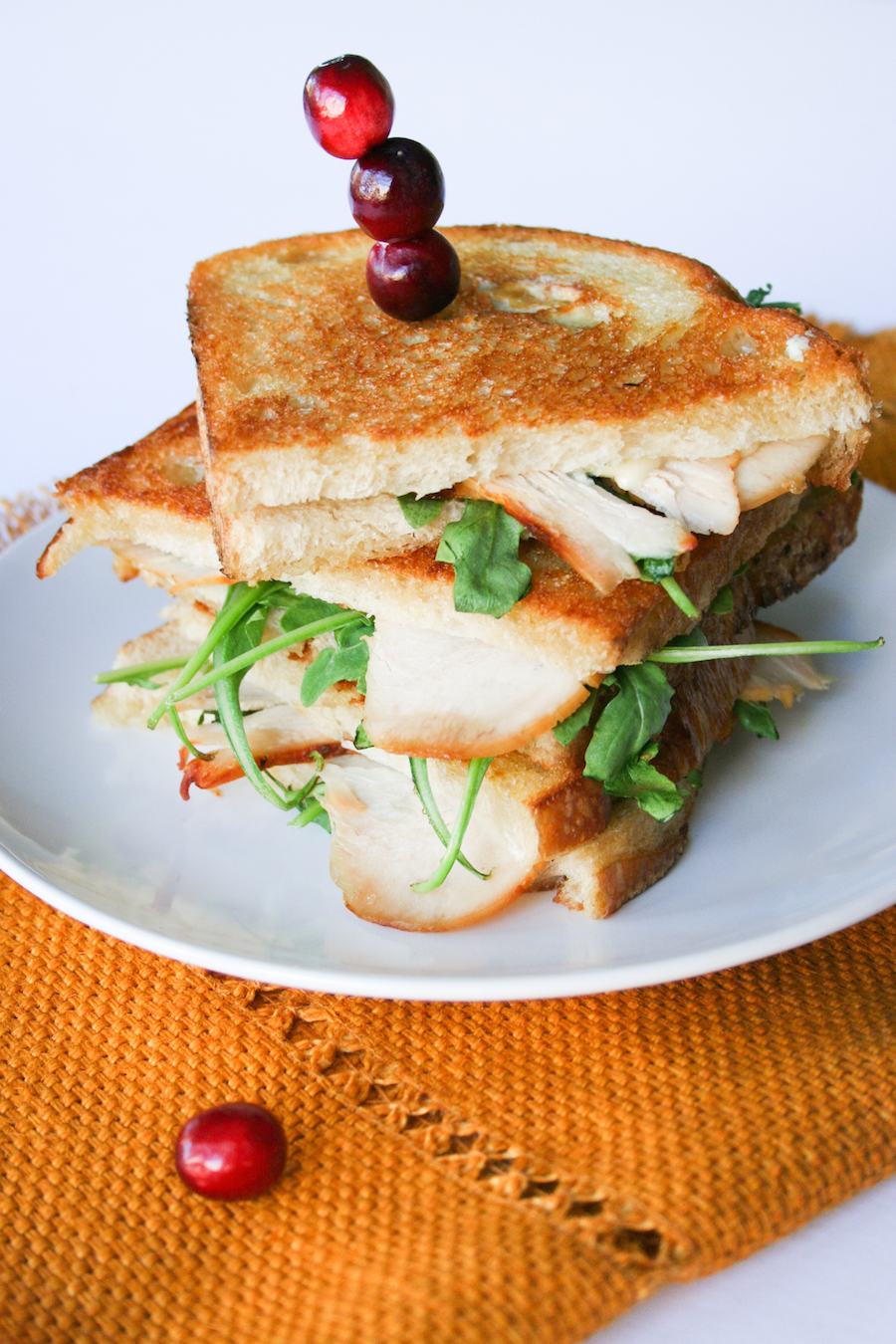 Thanksgiving Leftovers: Turkey Gorgonzola Grilled Cheese Sandwich ...