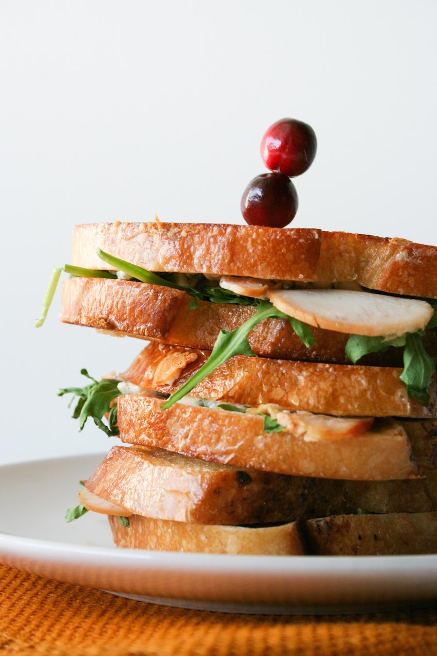 Turkey Gorgonzola Grilled Cheese Sandwich // Legal Miss Sunshine