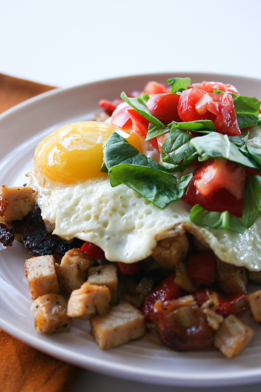 Turkey Hash Potato Pancakes