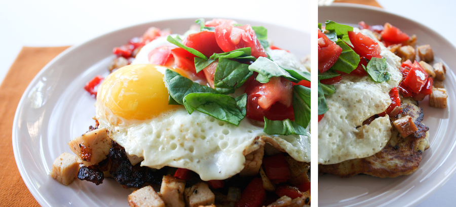 Turkey Hash Potato Pancake // Thanksgiving Leftovers // Legal Miss Sunshine