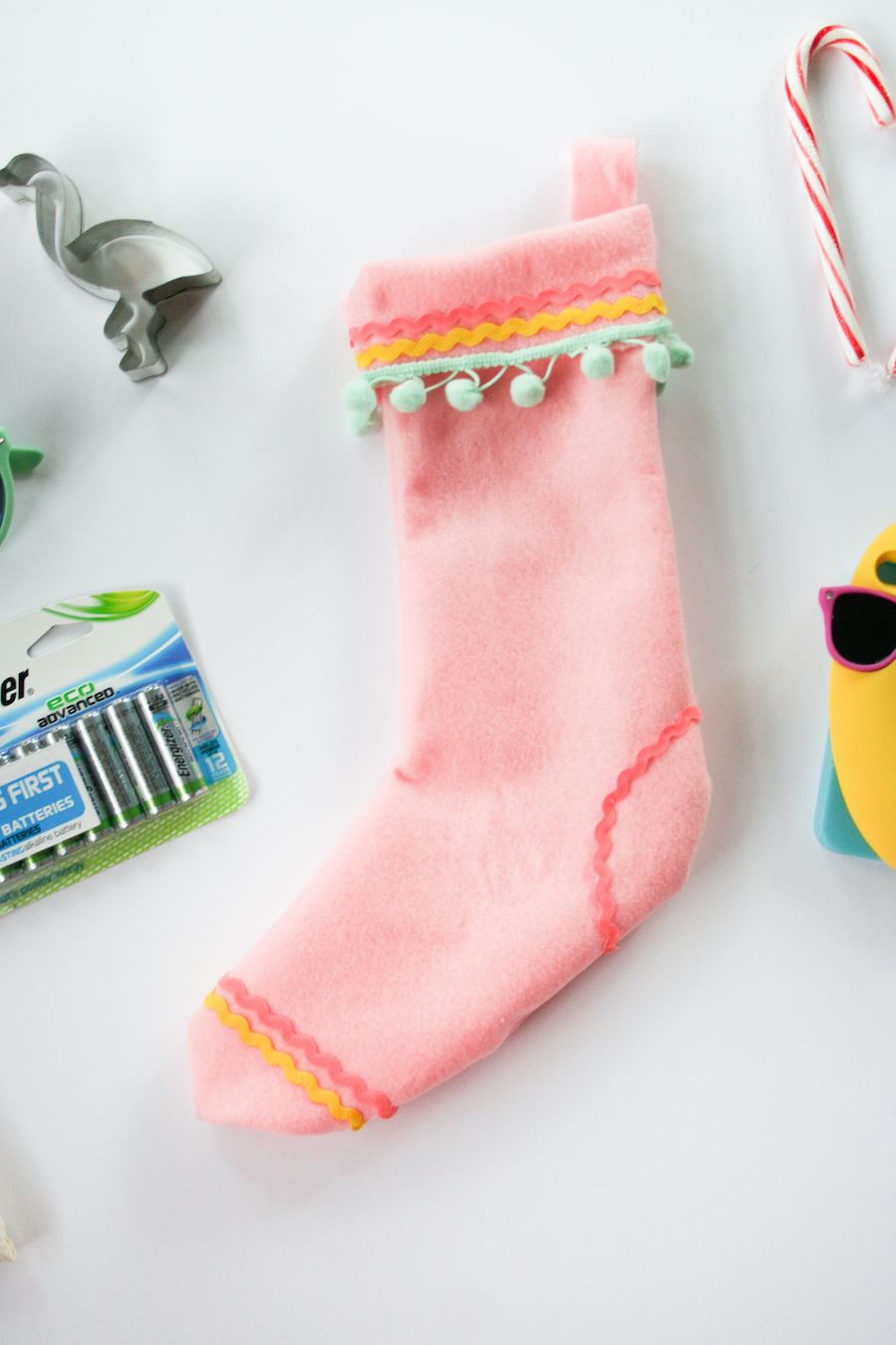 DIY No Sew Christmas Stocking // Legal Miss Sunshine