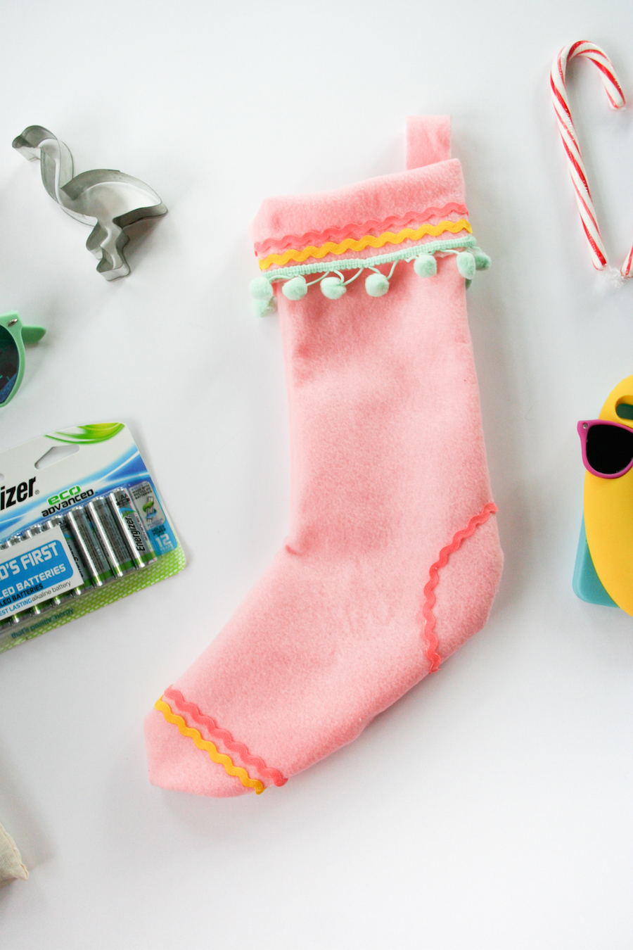 diy no sew christmas stocking legal miss sunshine