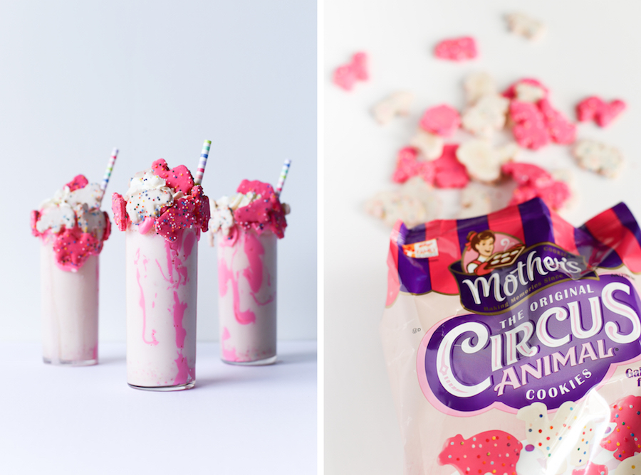 Circus Cookies Milkshake // Legal Miss Sunshine