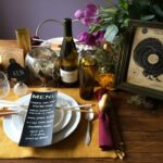 Turkey Shoot Thanksgiving Tablescape with DIY Crafts