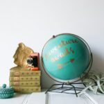 Anthropologie Inspired DIY Globe Makeover with Cricut Explore