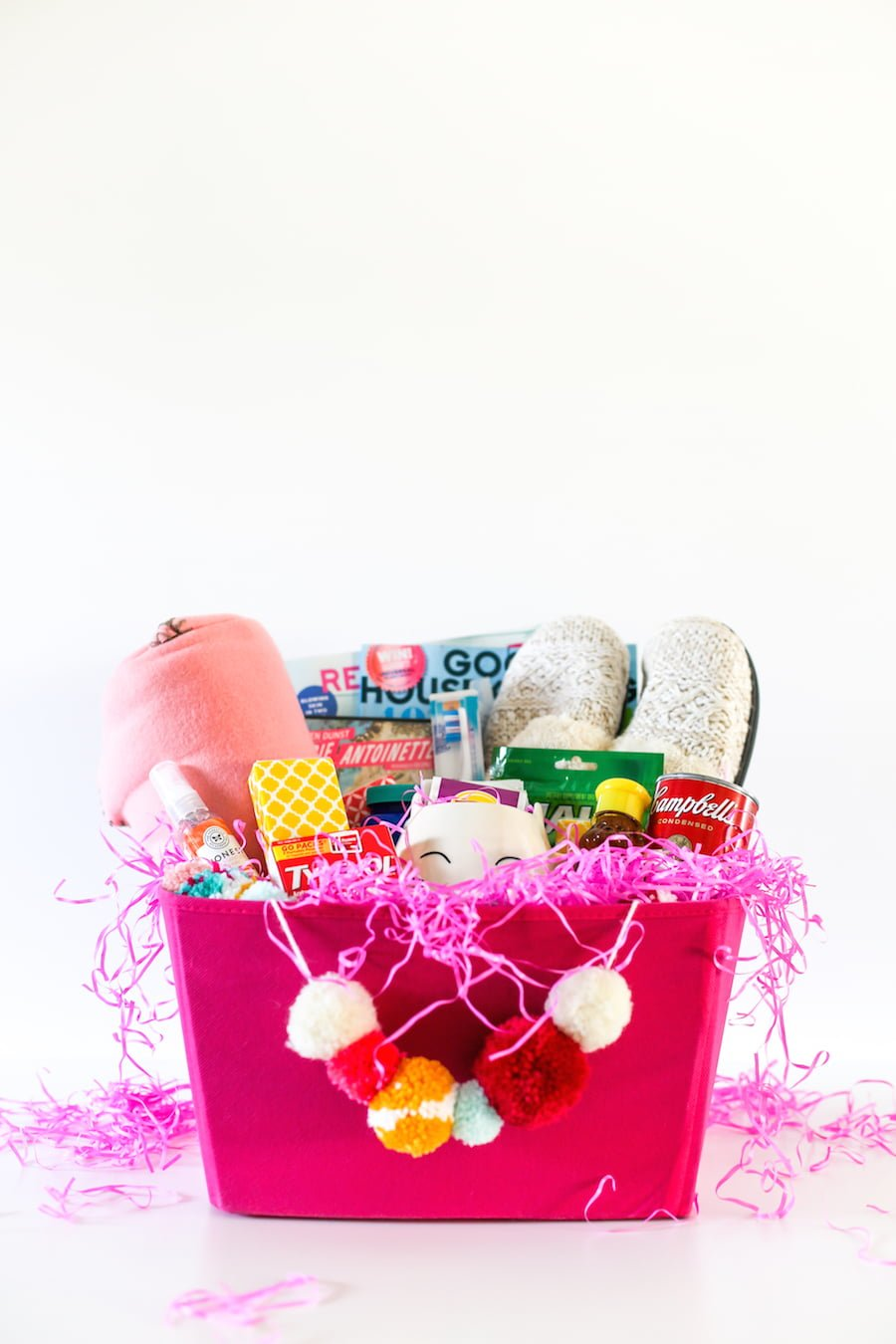 DIY Cold and Flu Care Package, Get Well Soon Care Package, Cold and Flu Survival Kit, College Care Package, Cold and Flu Care Package for Girlfriend, Daughter, Sister, Friend, Mom, Flu Survival Kit, Gift Ideas, Gift Basket