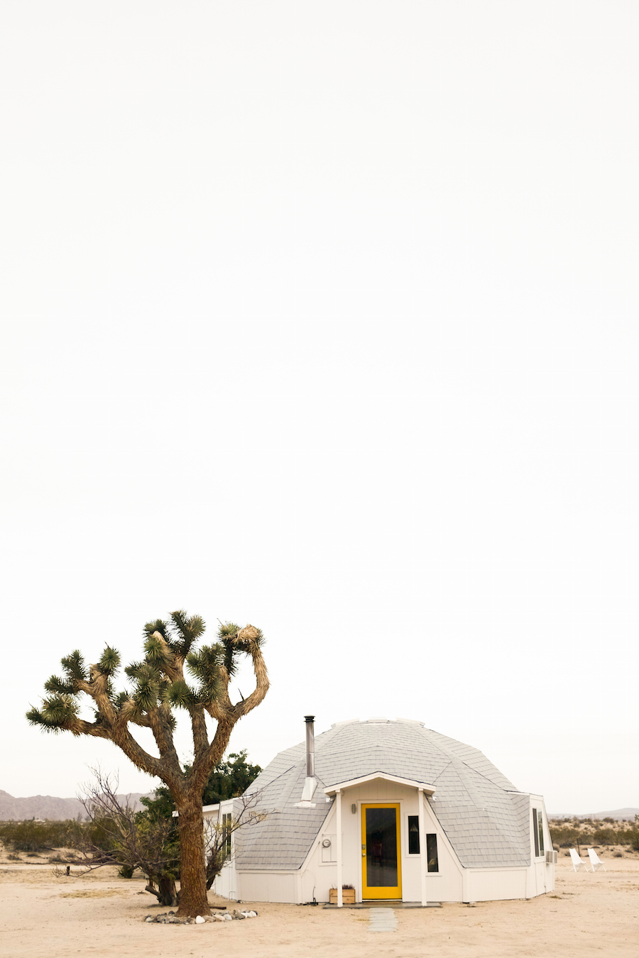 Dome in the Desert // Joshua Tree
