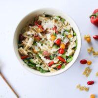 Italian Farfalle Pasta Salad Recipe