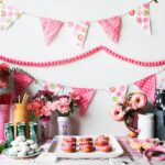 A Pink, Donut Themed, Minnie Mouse Baby Shower