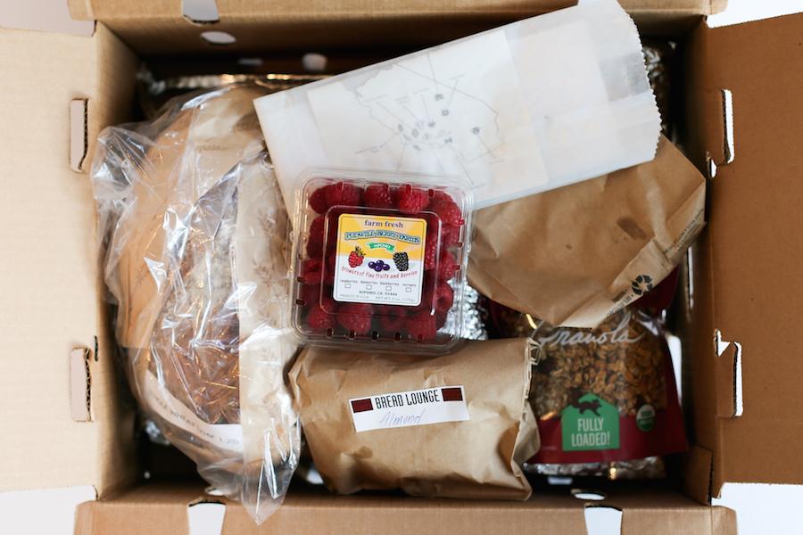 Raspberry Cream Cheese Stuffed French Toast // Overstock Farmers Market