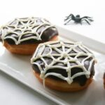 Spiderweb Halloween Donuts