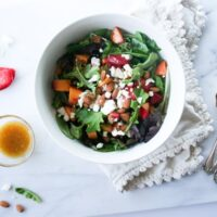 Peach & Pluot Stonefruit Salad