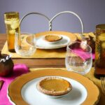 Thanksgiving Tablescape with Cheese Board Centerpiece