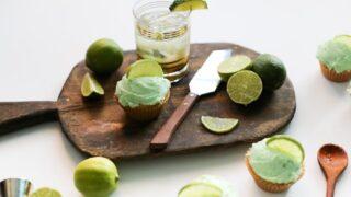Caipirinha Cocktail Cupcake // Salty Canary