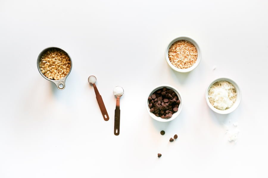 Chocolate Coconut Popcorn // Salty Canary