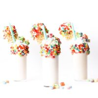 Cereal Milk Milkshakes