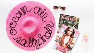 Make your own sequin saying hat for the Kentucky Derby or the horse races! Click through for tutorial // saltycanary.com