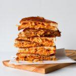 Mac & Cheese Grilled Cheese Sandwich