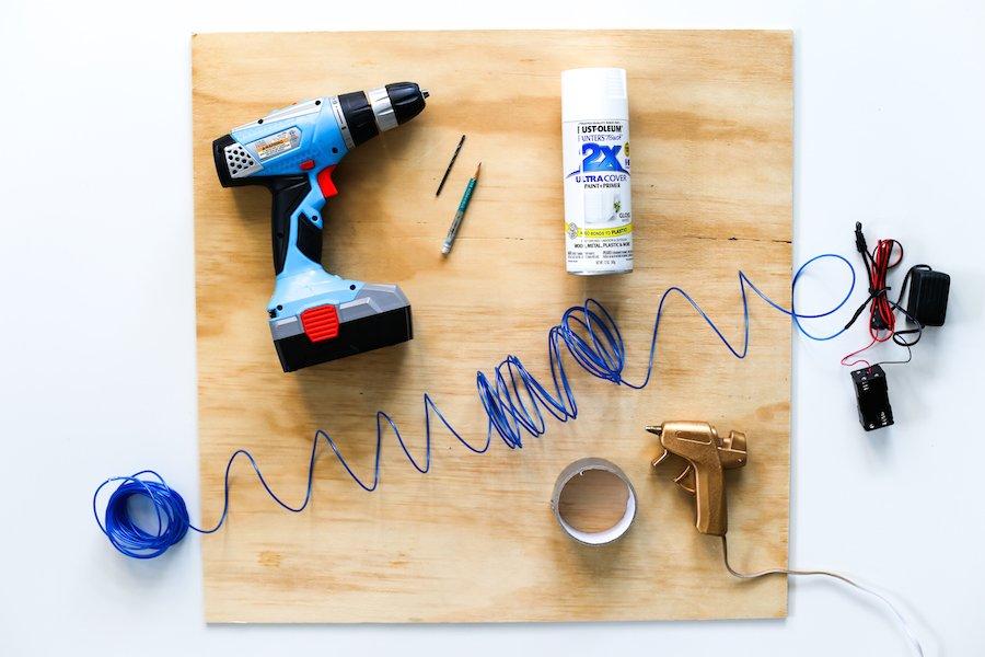 """Make a DIY """"Neon"""" Sign using el-wire."""