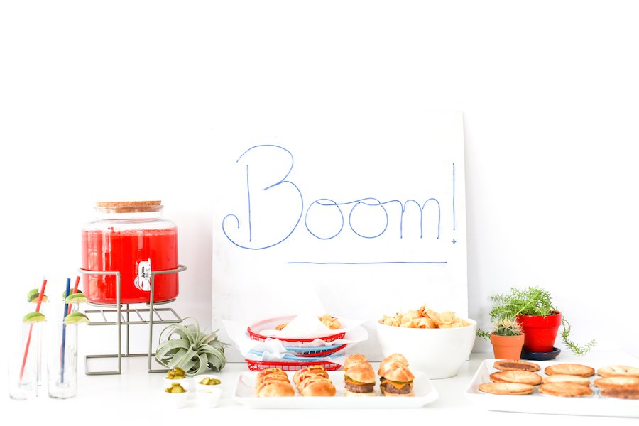 Throw an Itty-Bitty Mini Everything Party where everything is miniature except for the drinks! // saltycanary.com