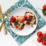 Make these tomato-loaded pizettes and freeze them to heat up on those busy weeknights! // saltycanary.com