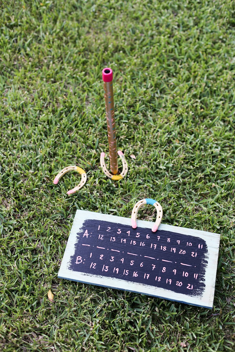 DIY Horseshoes Game Set // Salty Canary
