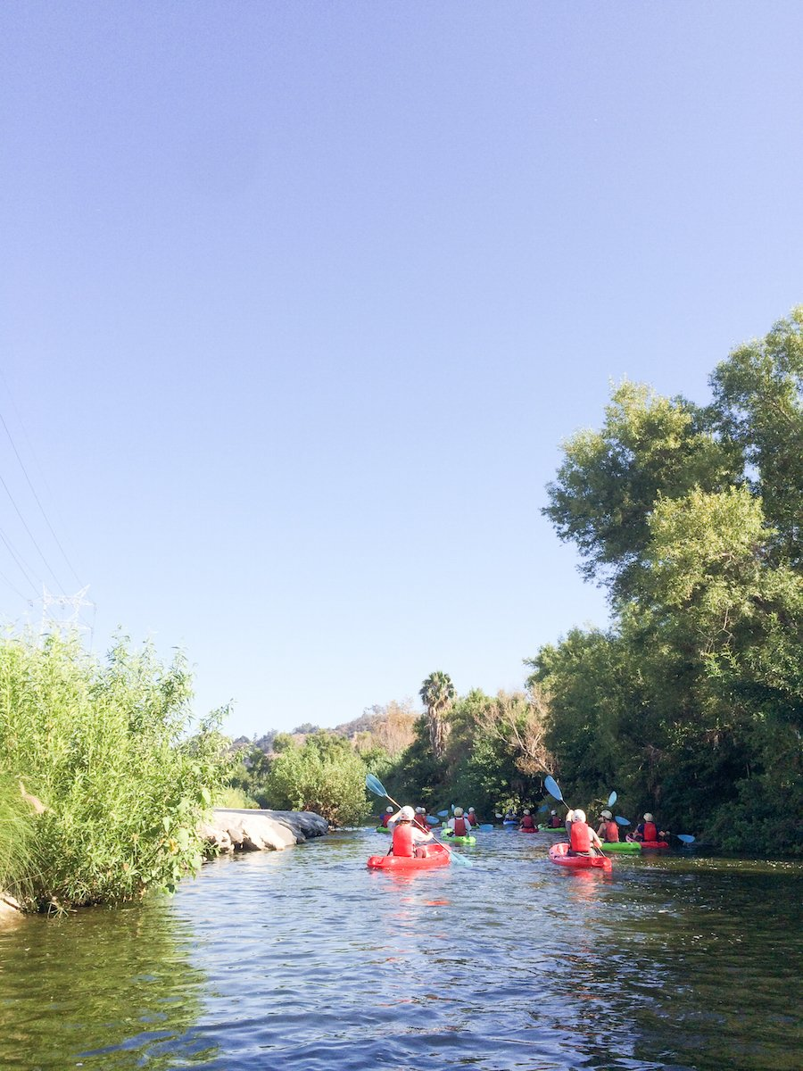 Outdoor Activities In Los Angeles Salty Canary - Los angeles river kayak map