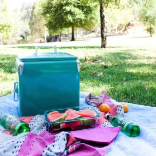 Picnic lunch at the Old Zoo in Los Angeles // Salty Canary