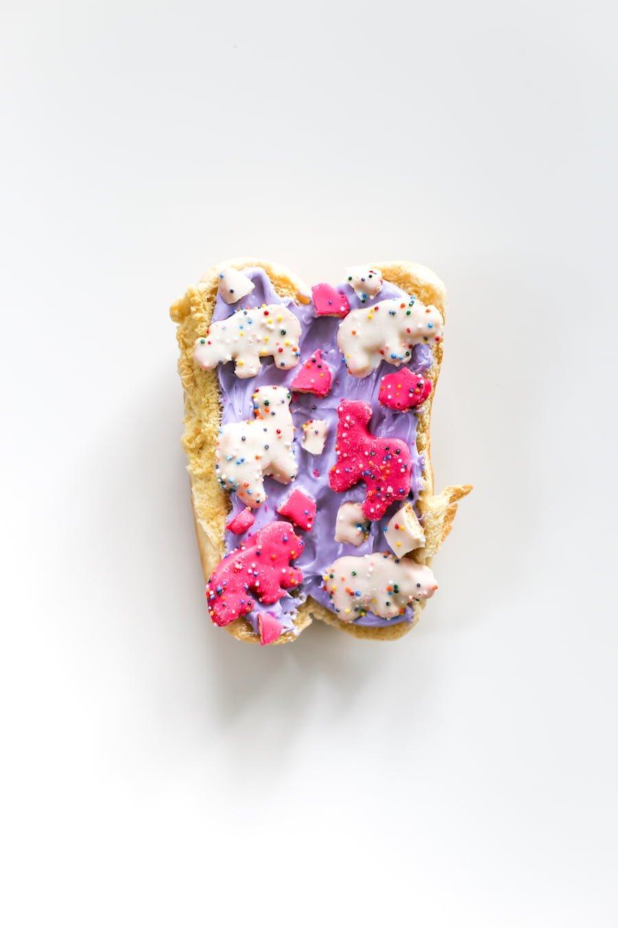 Hot Dog Bun Banana Split Ice Cream Sundae // Salty Canary