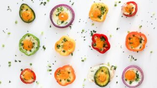 Fried Egg in a Bell Pepper Ring // Salty Canary