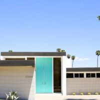 A Palm Springs Door Tour