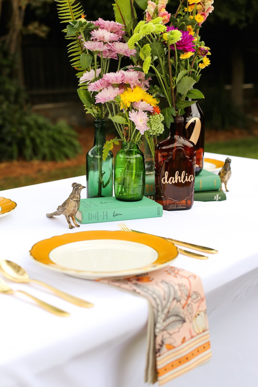 DIY your own Wedding Table Numbers using the Cricut Explore // Salty Canary