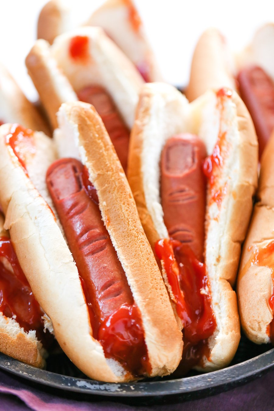 Ketchup On A Hot Dog Is Gross
