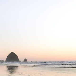 Take a Cannon Beach side trip from Portland, Oregon and visit Haystack Rock! // Salty Canary