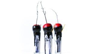 Spooky Halloween Milkshakes - The Poisoned Apple // Salty Canary