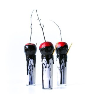 Spooky Halloween Milkshakes - The Poisoned Apple // Salty Canary