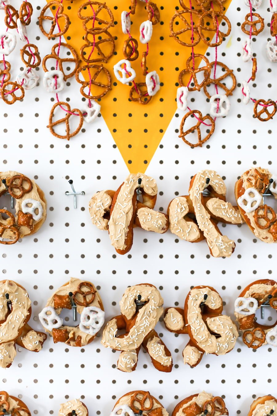 Oktoberfest Pretzel-Shaped Donuts and Beer Party // Salty Canary