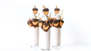 Boozy Bourbon Butter Pecan Thanksgiving Milkshake // Salty Canary