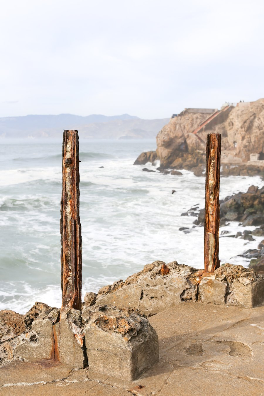 Sutro Bath Ruins in San Francisco // Salty Canary