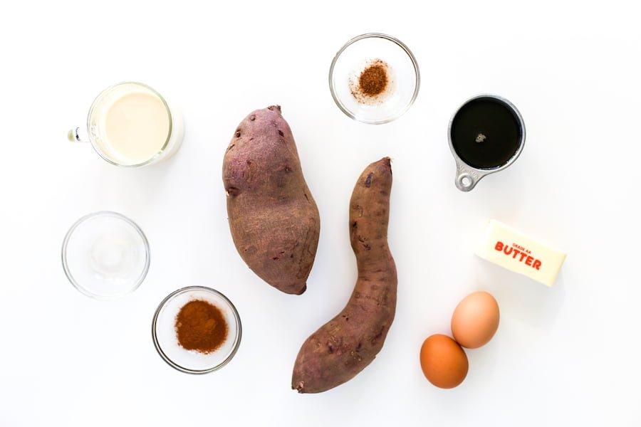 Purple Sweet Potato Pie in a Jar Recipe // Salty Canary