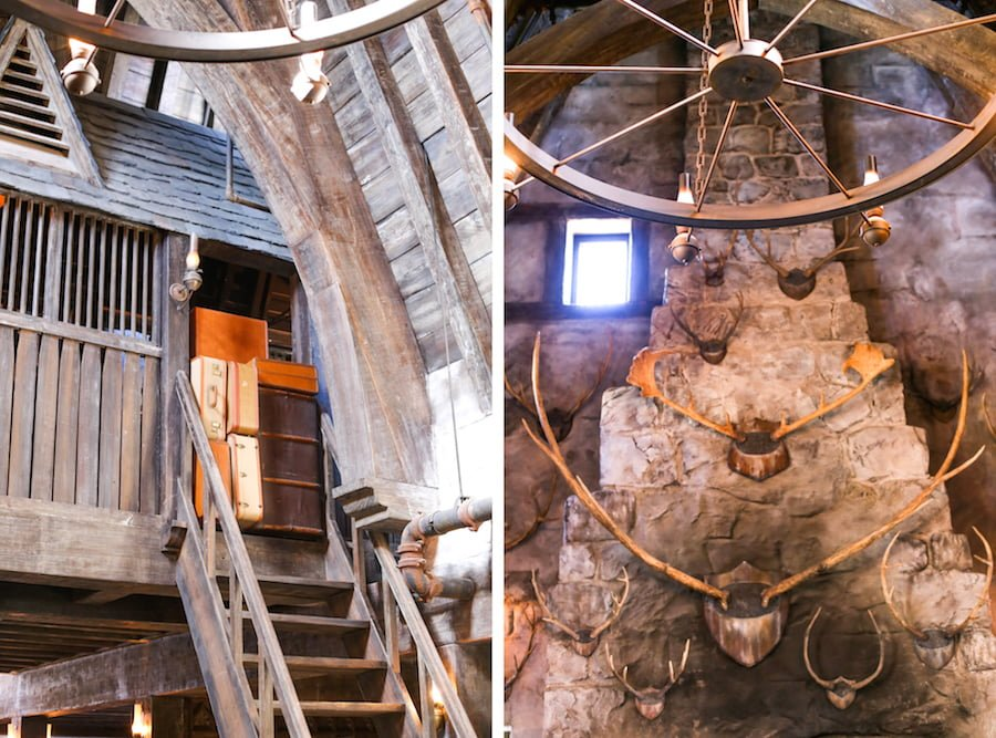 Three Broomsticks at the Wizarding World of Harry Potter at Universal Studios Hollywood // Salty Canary