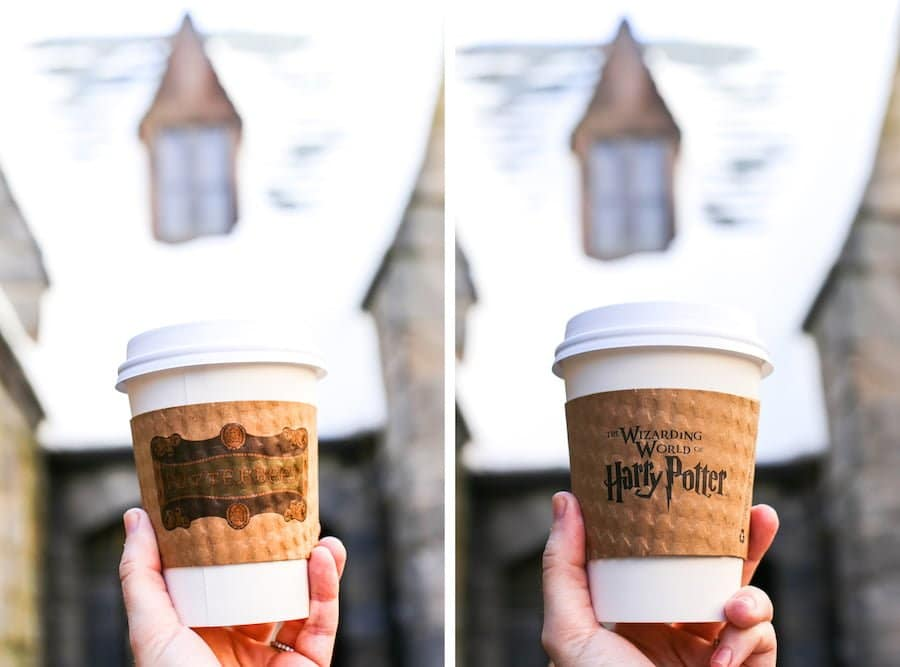 Hot Butterbeer at the Wizarding World of Harry Potter at Universal Studios Hollywood // Salty Canary