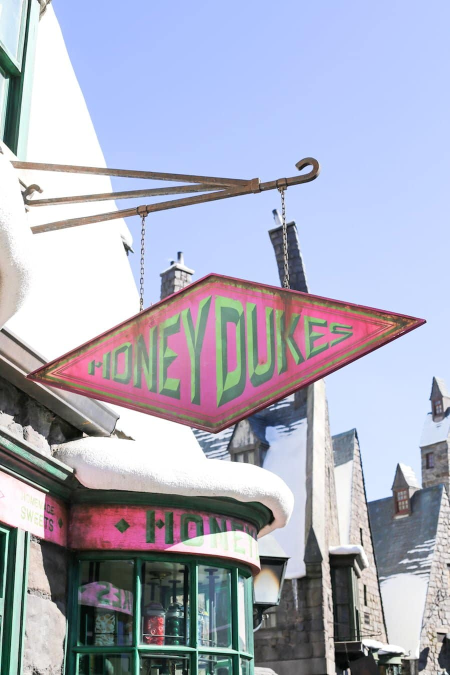 Honeydukes at the Wizarding World of Harry Potter at Universal Studios Hollywood // Salty Canary