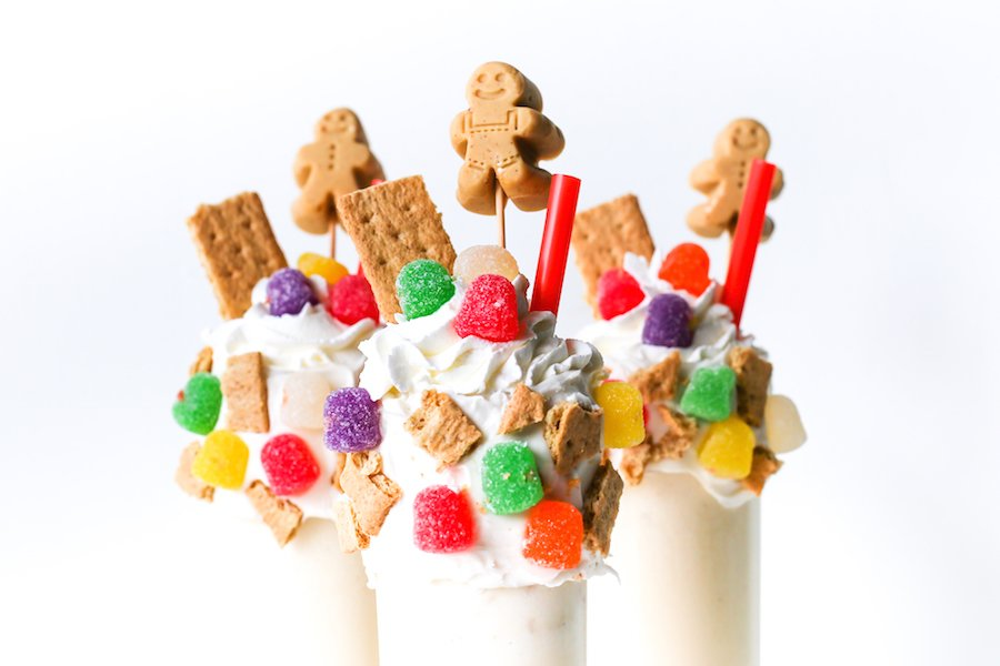 Gingerbread House Milkshake // Salty Canary