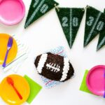 I Love Ice Cream Cakes Superbowl Football Cake // Salty Canary
