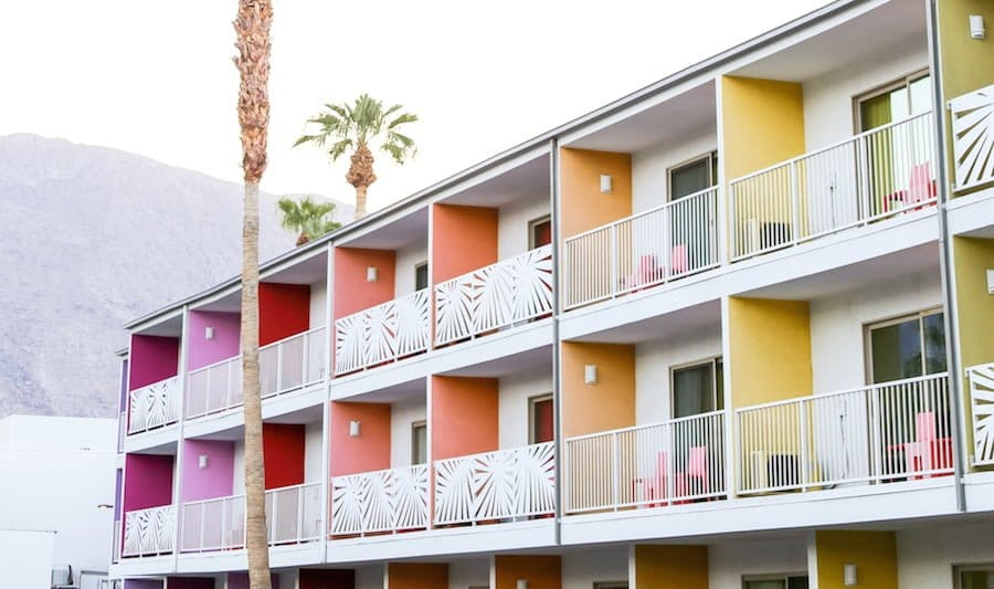 Wear to Where: Palm Springs Saguaro Hotel // Salty Canary