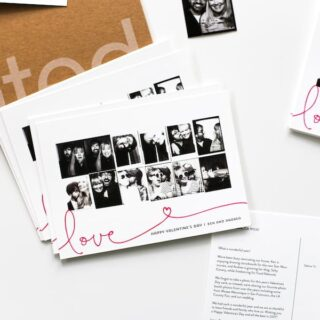 Photo Booth Valentines Day Cards from Minted // Salty Canary